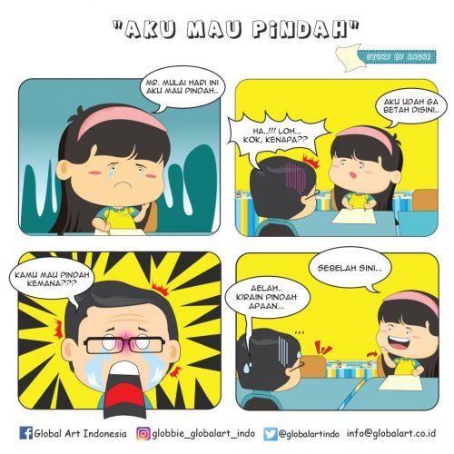 Aku Mau Pindah by Andry