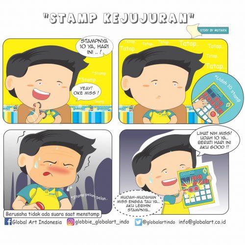 Stamp Kejujuran by Muti (20 Juli)